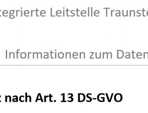 Datenschutzinformation des ZRF/ILS Traunstein!