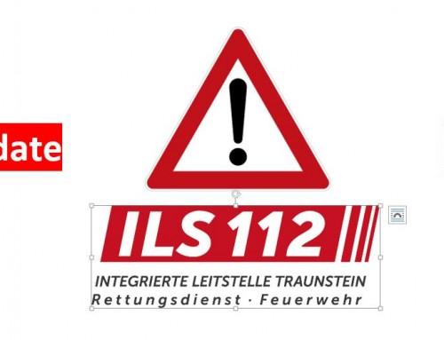 Datenbank-Update des Einsatzleitsystems am 11.07.2018 in der ILS Traunstein!