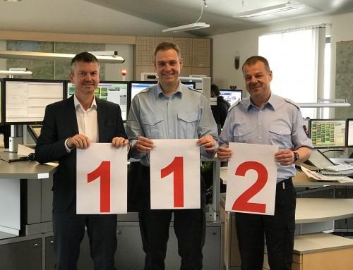 Der 11.2. ist der europäische Tag des Notrufs – stetig steigende Notrufzahlen in der Integrierten Leitstelle Traunstein